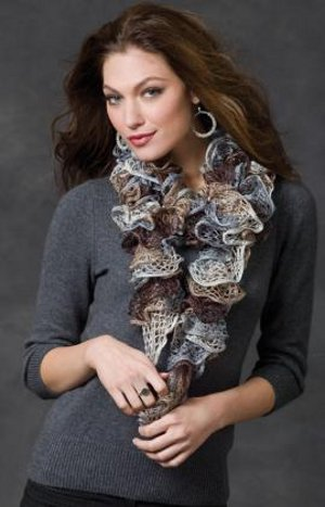 Soft and Smoky Potato Chip Scarf