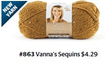 Vanna's Sequins Yarn