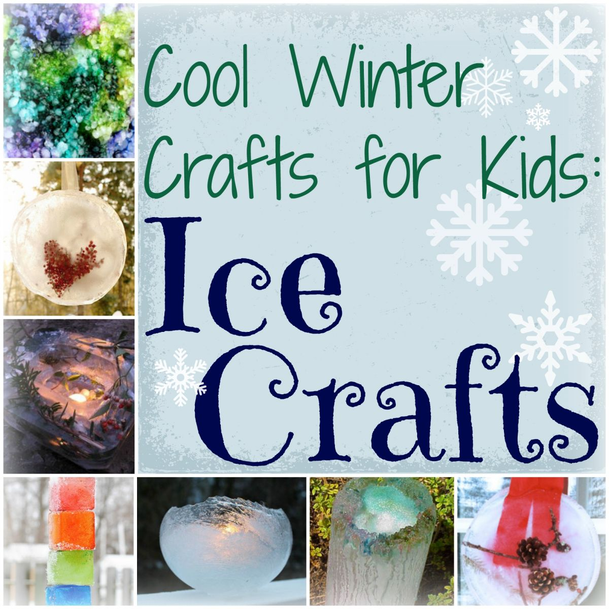 Winter Crafts For Kids Ice