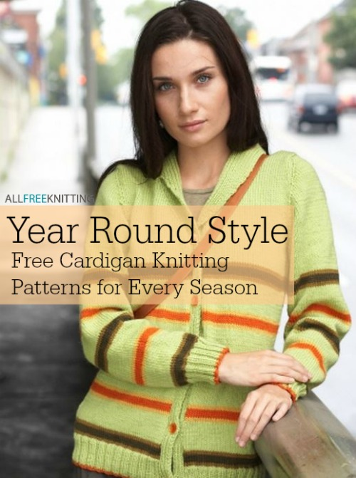 Year Round Style: 20 Free Cardigan Knitting Patterns for Every Season
